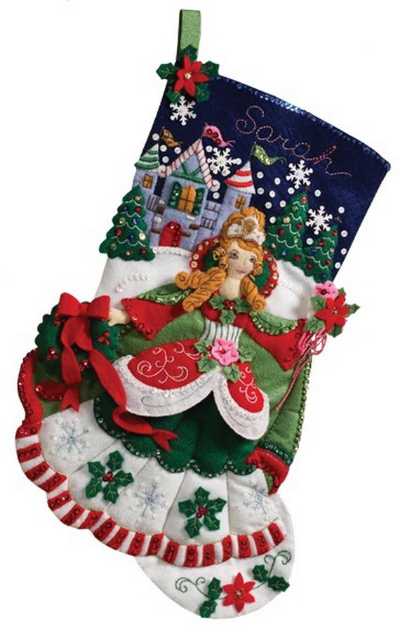Elegant  Christmas Stocking_27