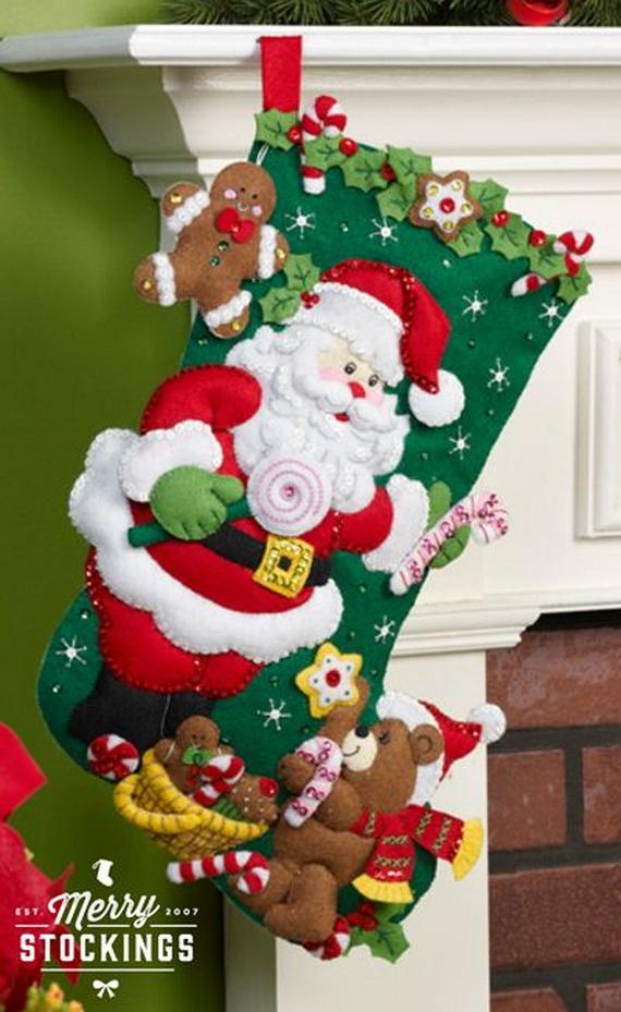 Elegant  Christmas Stocking_28