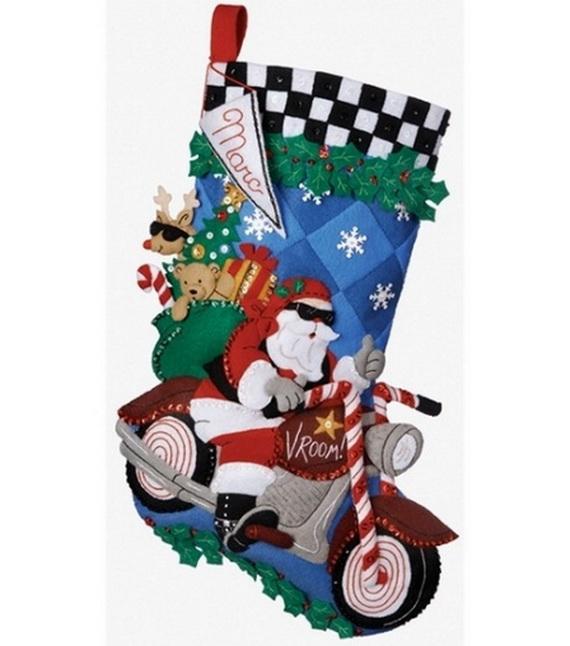 Elegant  Christmas Stocking_33