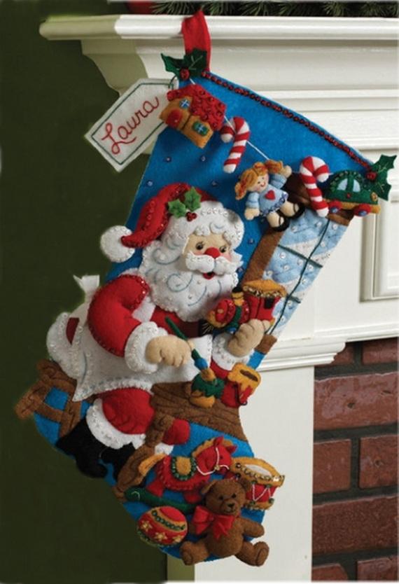 Elegant  Christmas Stocking_38