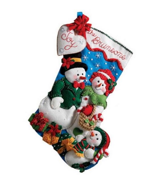 Elegant  Christmas Stocking_39