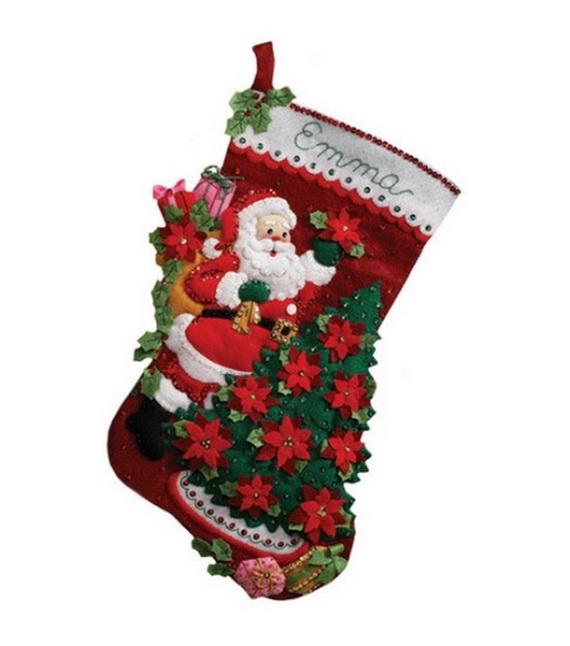 Elegant  Christmas Stocking_41