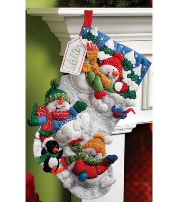 Elegant  Christmas Stocking_43
