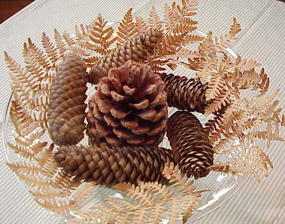 Fresh Pine Centerpiece For Holiday__20
