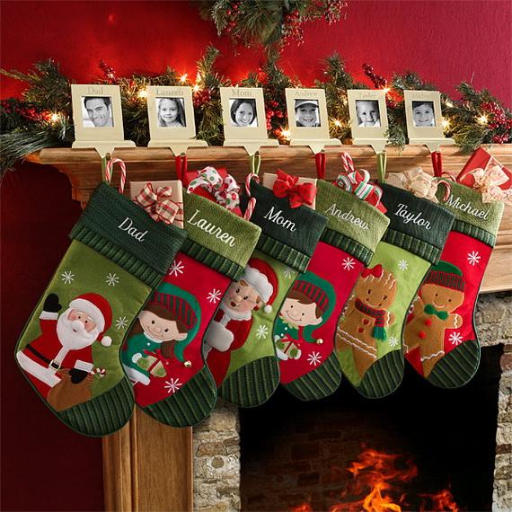 Hanging Christmas Stockings for Holidays_17