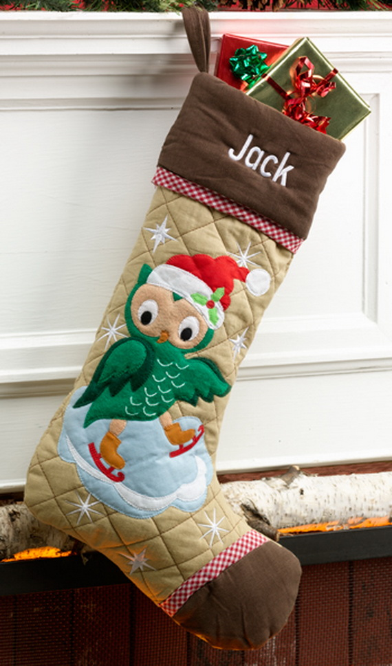 Hanging Christmas Stockings for Holidays_19