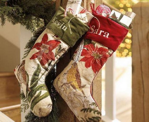 Hanging Christmas Stockings for Holidays_26