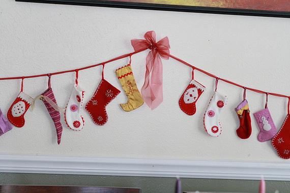 Hanging Christmas Stockings for Holidays_27