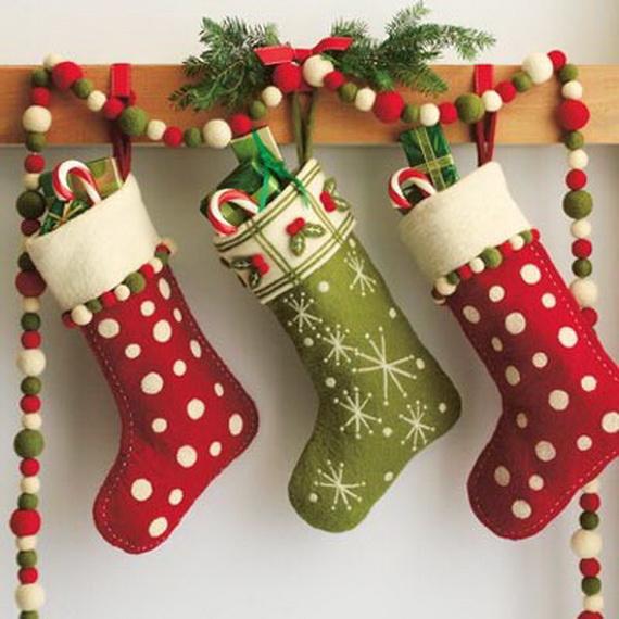 Hanging Christmas Stockings for Holidays_29