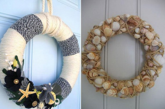 Holiday lodging Wreath and Garland_04