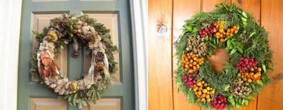 Holiday lodging Wreath and Garland_16