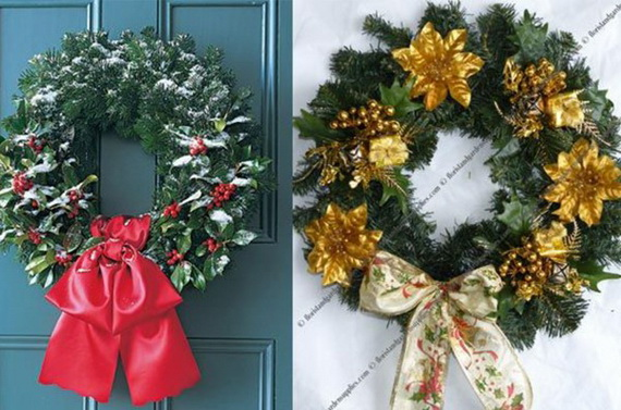 Holiday lodging Wreath and Garland_18