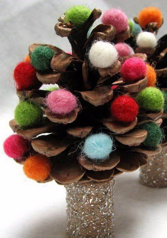 painted-pine-cone-crafts-for-thanksgiving-holiday-4