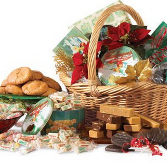 Traditional Christmas Gift Basket Idea_04