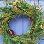 Eco-Friendly Thanksgiving Holiday Wreath Ideas