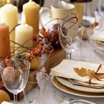 Thanksgiving Holiday Candle Display Ideas
