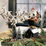 Christmas Holiday  Centerpiece Decoration Ideas