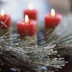 Holiday Candels,New Years Eve Candle
