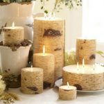 Thanksgiving Candle Centerpiece Idea