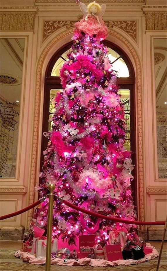 A Holiday Barbie Themed Christmas Tree_06