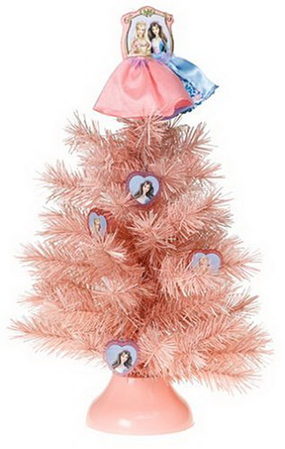A Holiday Barbie Themed Christmas Tree_13