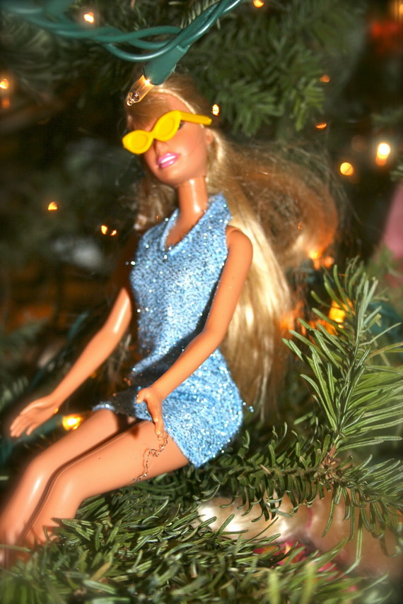 A Holiday Barbie Themed Christmas Tree_24
