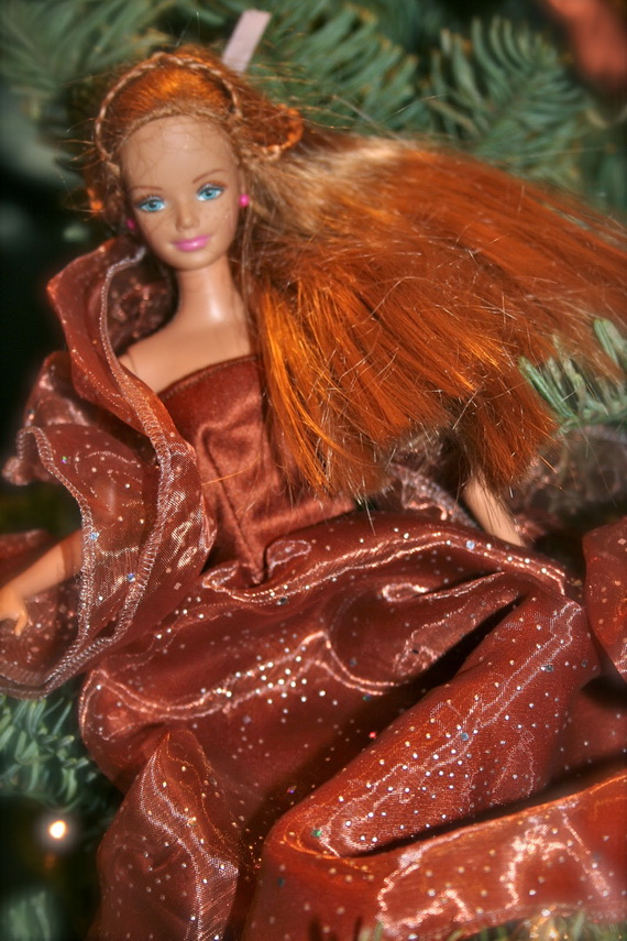 A Holiday Barbie Themed Christmas Tree_32