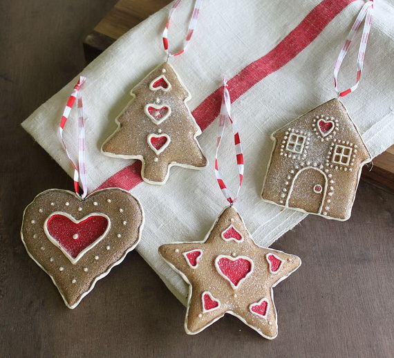 Handmade Polymer clay Christmas Ornament Crafts for Holidays _02