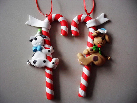 Handmade Polymer clay Christmas Ornament Crafts for Holidays _06