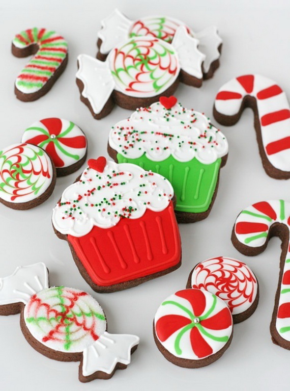 Iced, Decorated, and Shaped Cookies for Holidays_10