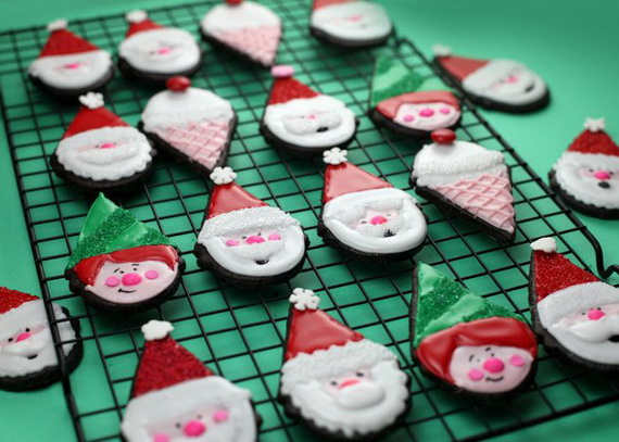 Iced, Decorated, and Shaped Cookies for Holidays_13