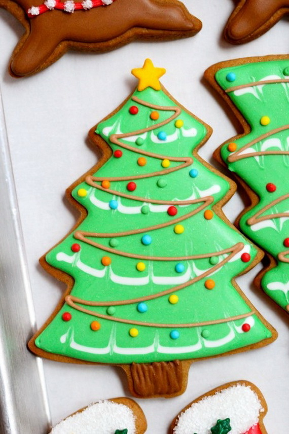 Iced, Decorated, and Shaped Cookies for Holidays_22