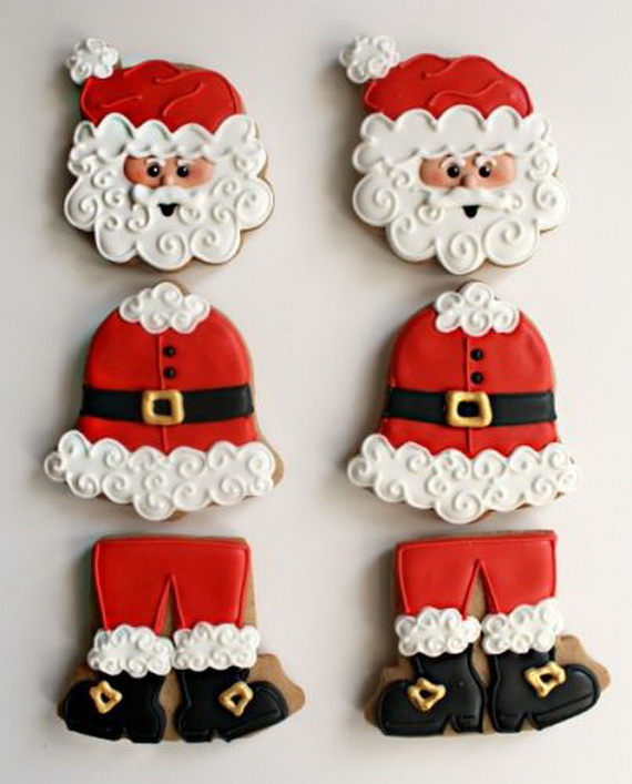 Iced, Decorated, and Shaped Cookies for Holidays_29