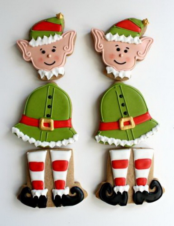 Iced, Decorated, and Shaped Cookies for Holidays_30