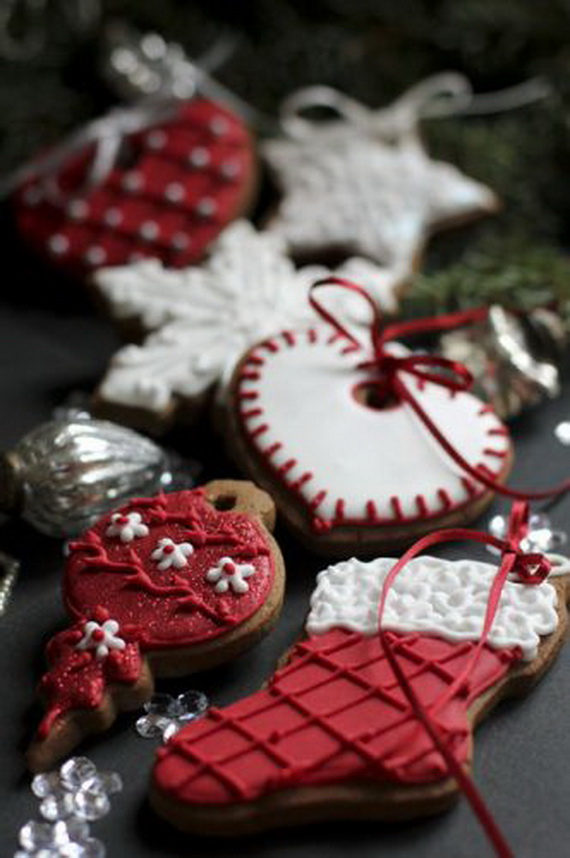 Iced, Decorated, and Shaped Cookies for Holidays_40