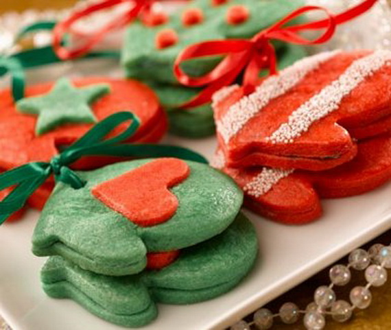 Iced, Decorated, and Shaped Cookies for Holidays_41