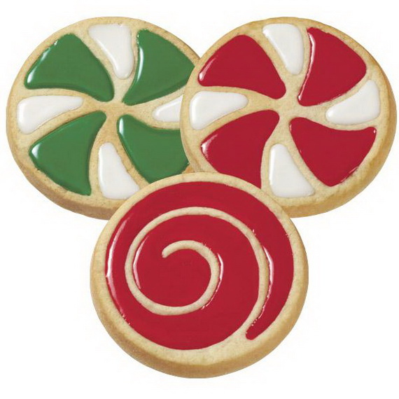 Iced, Decorated, and Shaped Cookies for Holidays_61