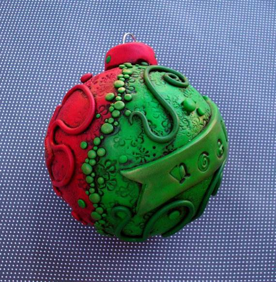 Polymer-Clay-Christmas-Holiday-Decoration-15