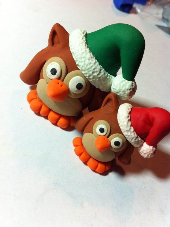 Polymer-Clay-Christmas-Holiday-Decoration-29