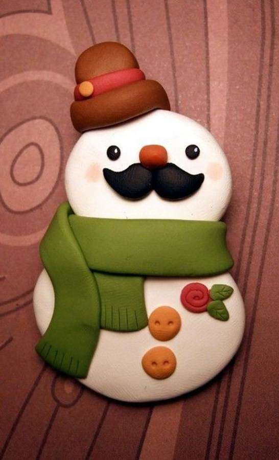 Polymer-Clay-Christmas-Holiday-Decoration-32