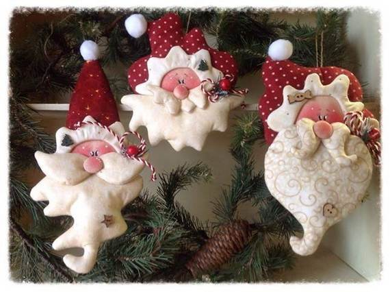 Polymer Clay Christmas Tree Decorations.Polymer Clay Christmas Holiday Decoration Family Holiday