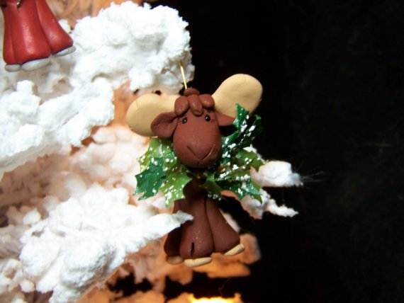 Polymer-Clay-Christmas-Holiday-Decoration-5