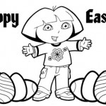 Easter Holiday Coloring Pages For Kids