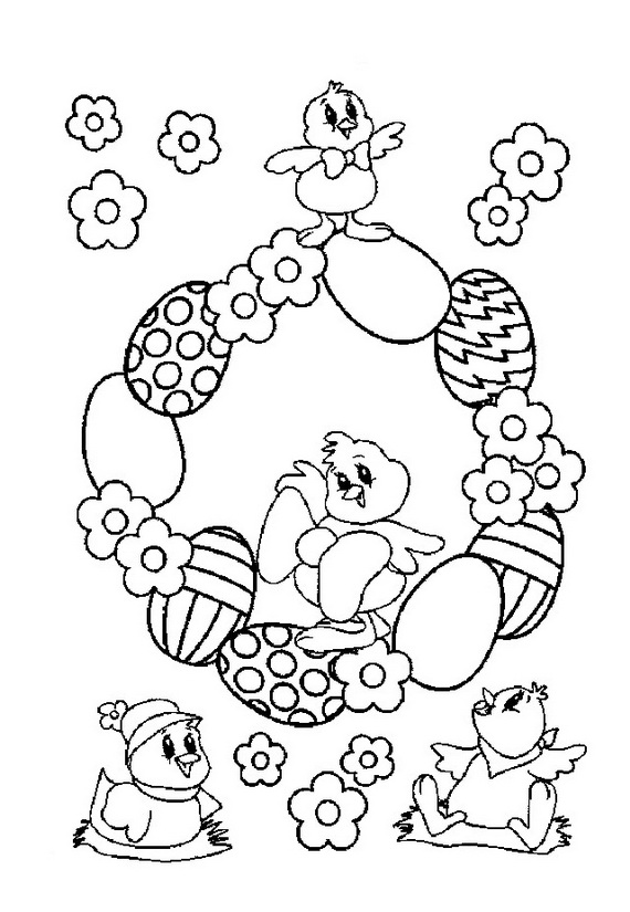 Easter Holiday Coloring Pages For Kids | Guide to family ...