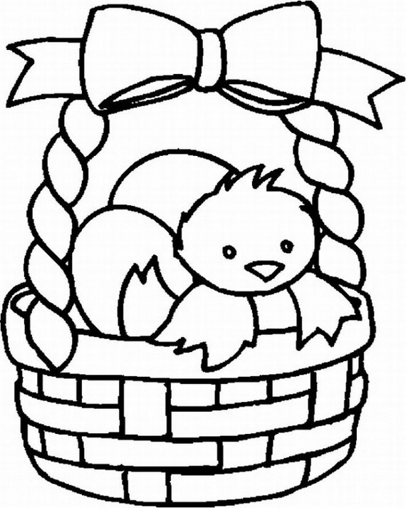 Easter Holiday Coloring Pages For Kids | family holiday.net ...
