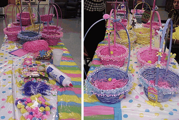 Decorating Ideas For Easter Holiday Basket Family Holiday