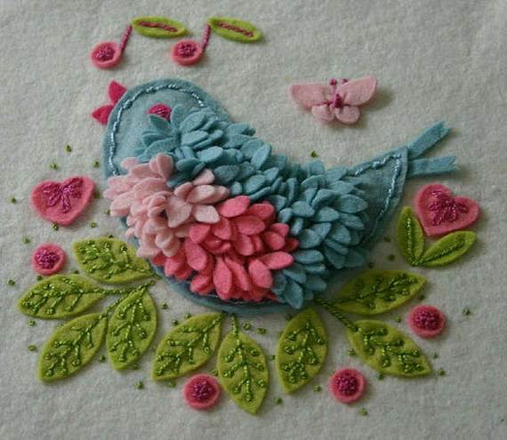 Homemade-Mothers-Day-Ideas-Spring-felt-craft-flower-_18