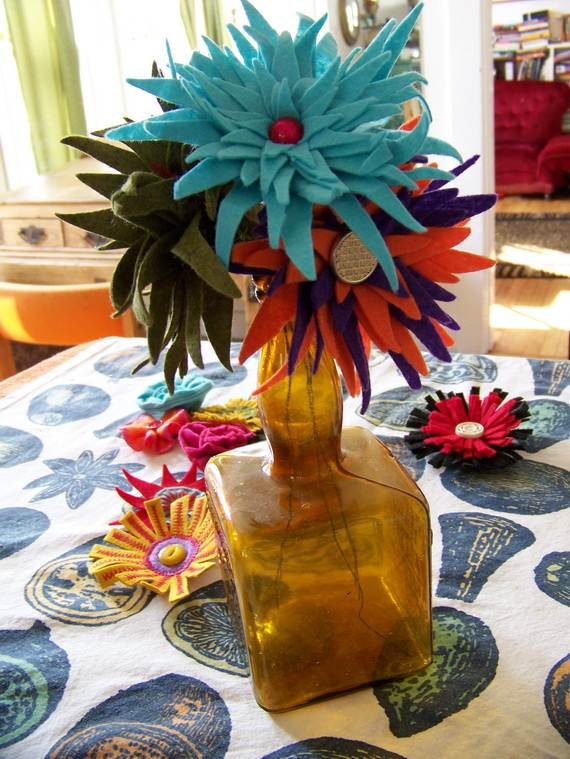 Homemade-Mothers-Day-Ideas-Spring-felt-craft-flower-_45