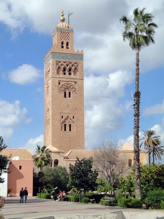 Medina Of Marrakesh Morocco A UNESCO World Heritage Site