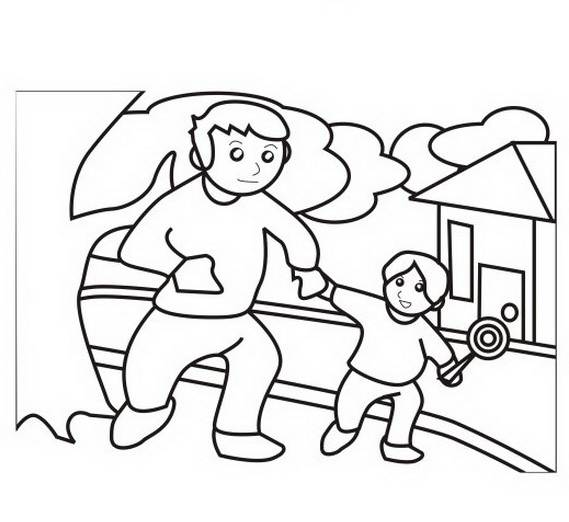 Father's-day-Holiday-coloring-pages-_24